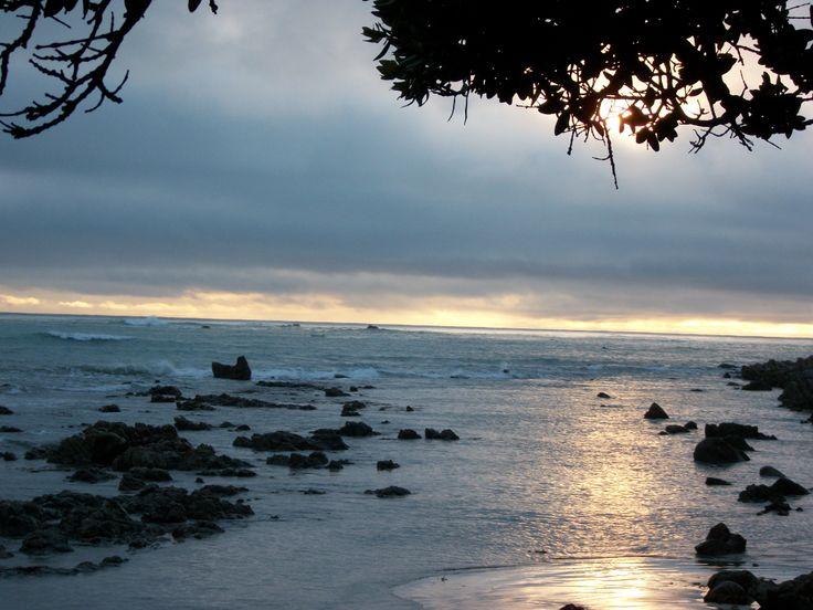 Sunrise Kaikoura Beach  NZ