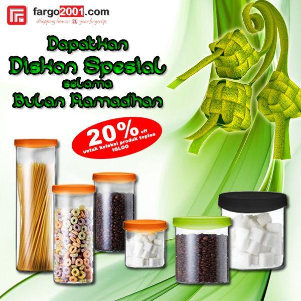 """Nikmati """"Promo Spesial Bulan Ramadhan"""" untuk produk-produk rumah tangga hanya di Fargo2001.com ! http://fargo2001.com/housewares-315"""