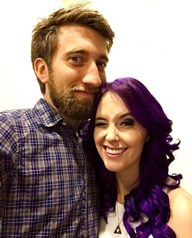 Aww!! Meg Turney and Gavin Free