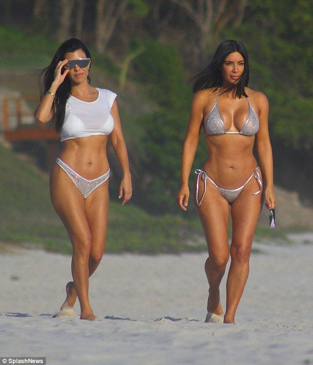 Sparkle this summer in an embellished bikini like Kim's #DailyMail