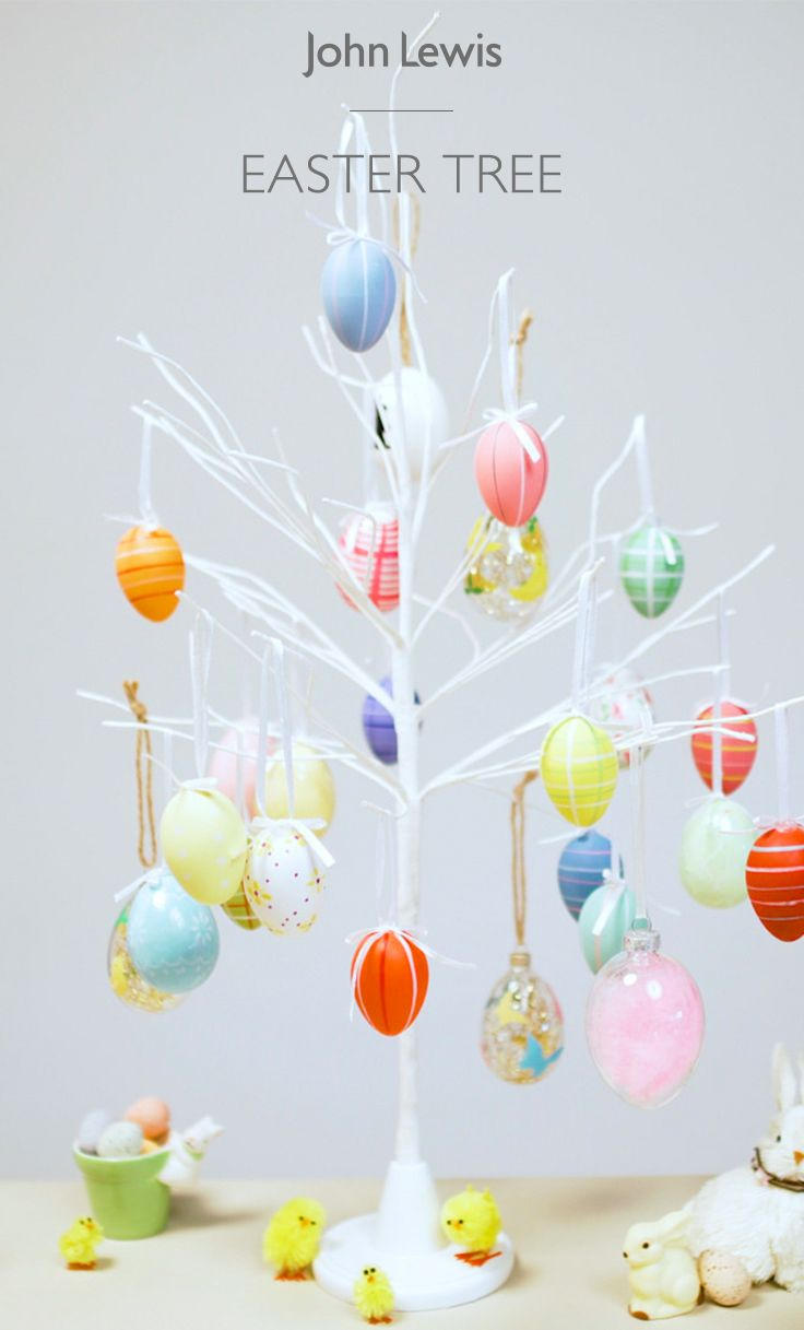 It's traditional in Germany and Austria to celebrate Easter by hanging hollow eggs from the branches of trees. This Easter, we have everything you need to create your own indoor tree for a unique and vibrant display.