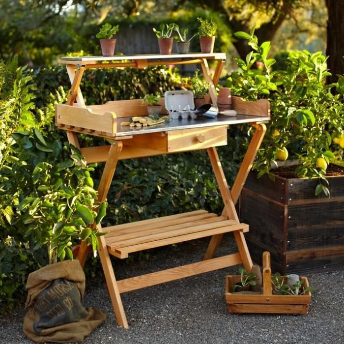 19 Terrific Folding Potting Table Digital Image Inspirational