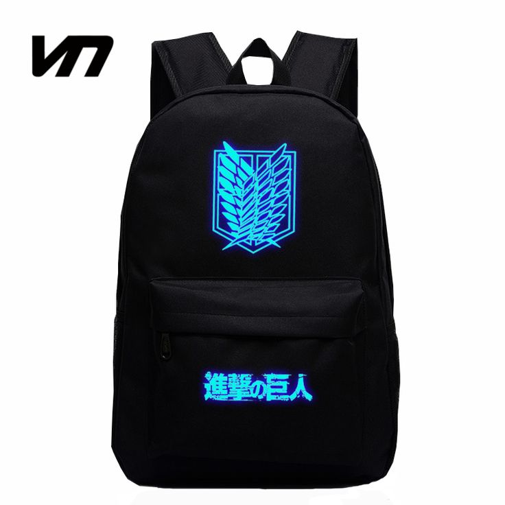 2016 Hot Sale Attack on Titan Bag Japan Anime Printing Backpacks For Teenagers School Student Bag Fans Best Collection Souvenirs -- Visit the image link for more details.