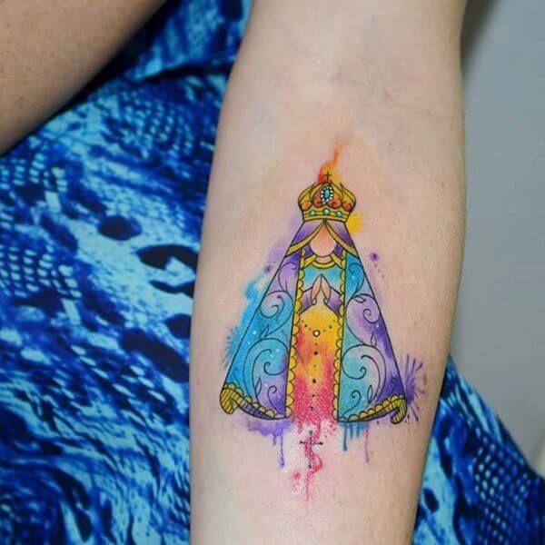50 Watercolor Tattoo Designs That Totally Tell a Story Of a Thousand Colors | Tatuagem, Minitatuagens, Tatuagens fofas