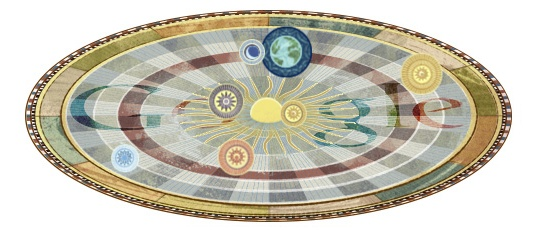 Nikolaus Kopernikus Doodle
