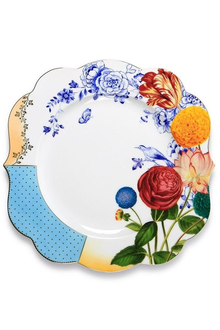 Picture of Royal dinner plate multi-colour