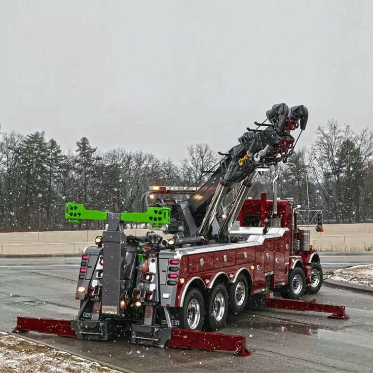 1000+ Images About Big Tow Trucks On Pinterest