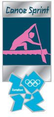 London 2012 Olympics Canoe Sprint Pictogram Pin