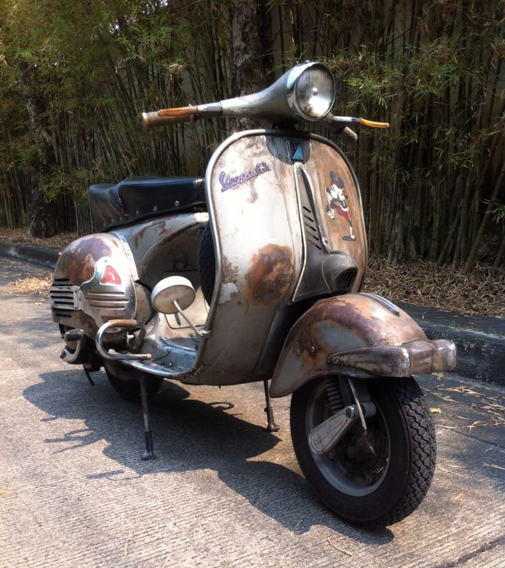 #Vespa Gs150 #Vs5 #Vintage Scooter1959 #Grand Sport
