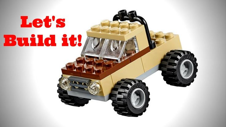 LEGO Classic 10697 Large Creative Box Jeep Let's Build