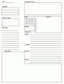 Problem Solvin' Mom: Organizing Tip Thursday - creating your own personalized planner pages