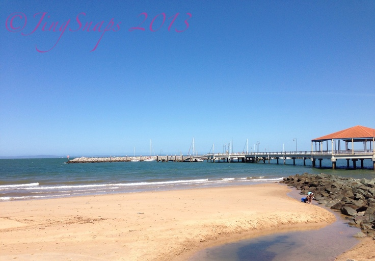 Clear Skies, Redcliffe Jetty, Qld  Taken 2012