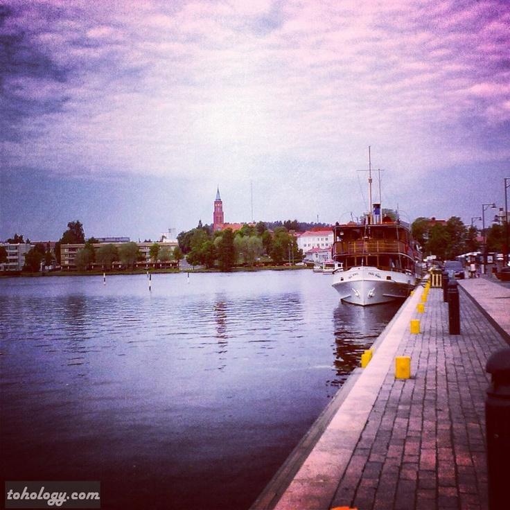 #Savonlinna #harbor #Finland #Suomi