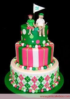 putt putt golf cake | Golf Girl's Diary: Top 10 Golf Cakes - Creative Confections That Hit ...