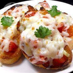 Mozzarella Bruschetta Melts @ allrecipes.com.au