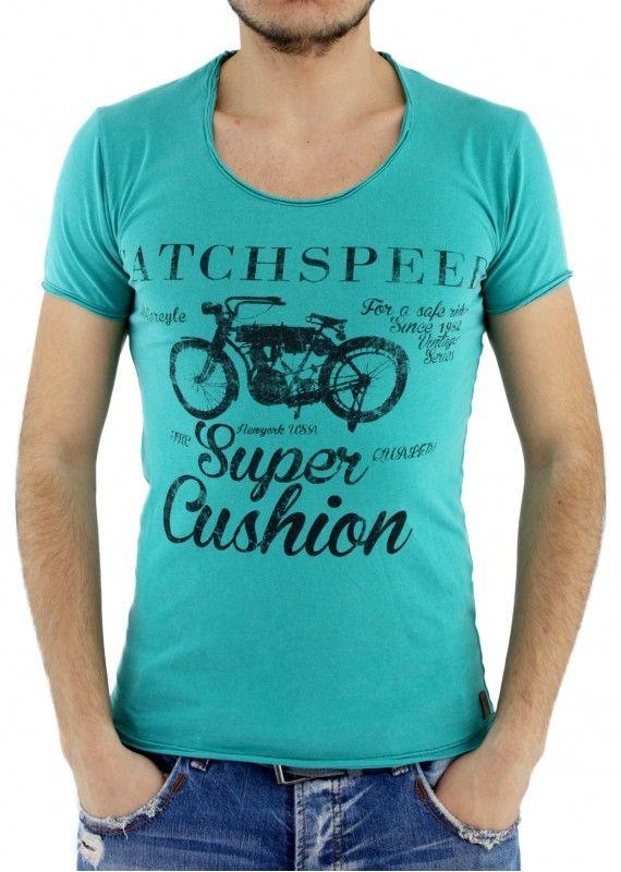 Motorsiklet Baskılı Tişört