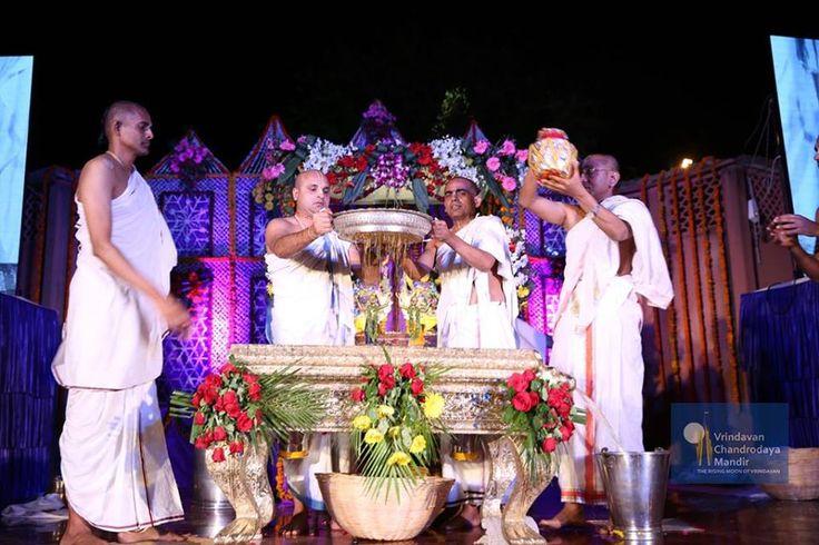 Abhishek - The ceremonial bath