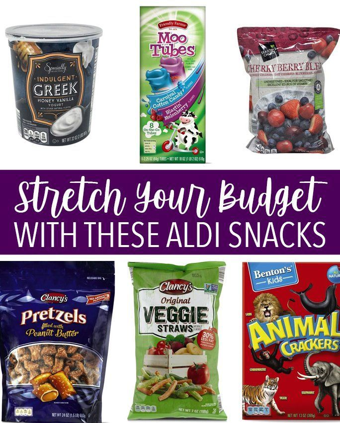 The 38 Best Aldi Snacks And Lunch Ideas To Feed A Family On The Cheap In 2020 Snacks Aldi Recipes Fun Snacks