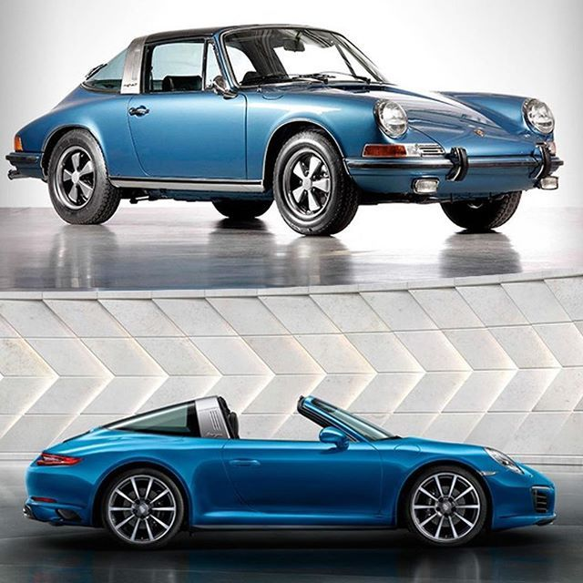 Porsche 911 Targa - old vs new