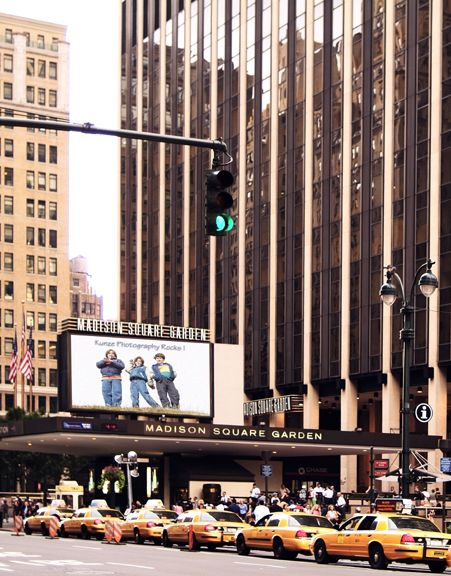 Madison Square Garden, New York City - When I worked for TWA their headquarters were in that building. Spent a week every year there in marketing training classes.