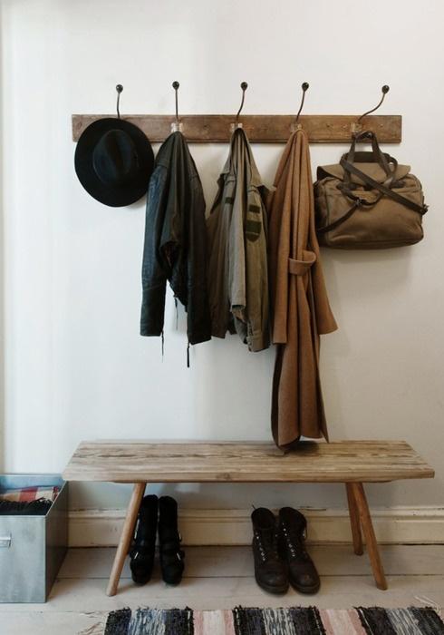 coat rack & shoe rack