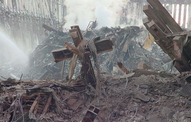 Atheists in America want the cross from 9-11 removed
