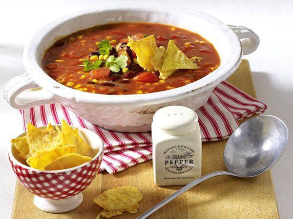 Partysuppen für lange Nächte - mexikanische-partysuppe  Rezept