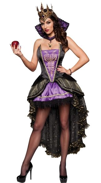 Yandy has tons of fun costumes like this Deluxe Evil Queen!