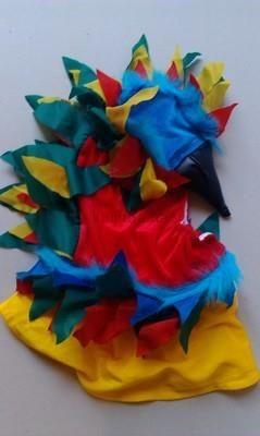 Продам костюм попугая