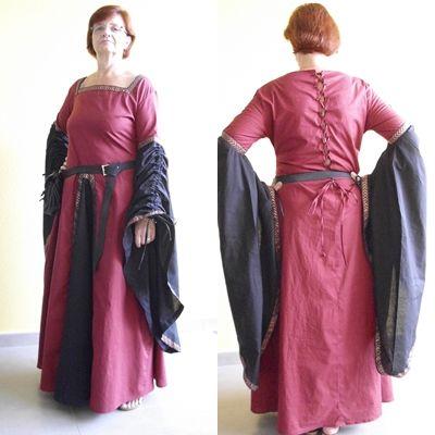 Mein Kleid 100 % meine Handarbeit