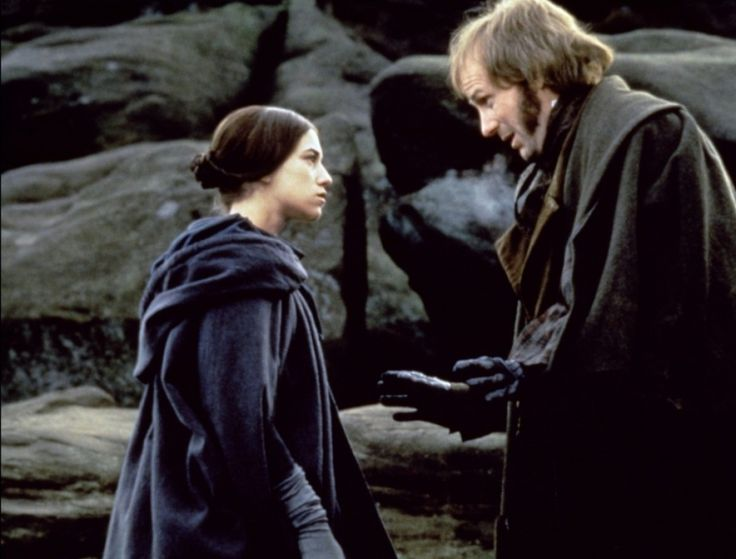 """I see the mountain will not come to Mohammed, therefore, Mohammed must go to the mountain."" Jane Eyre (1996)"
