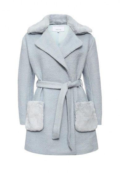 Пальто LOST INK выполнено из плотного текстиля с высоким содержанием шерсти. Детали: воротник с л...