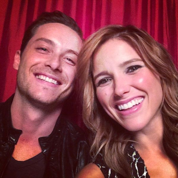 The fact thay Sophia Bush and Jesse Lee Soffer may be dating in real life is really cute and exciting! | E! Online Mobile