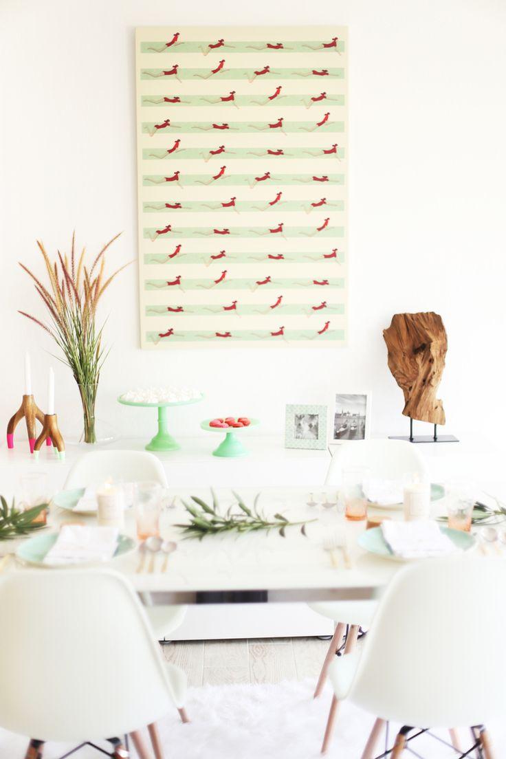 buffet table setting ideas   #ad #worldmarkettribe