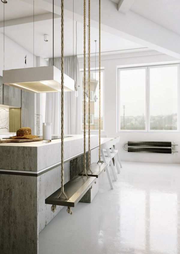 14 Rooms Flawlessly Incorporating Springs Concrete Trend Concrete-and-kitchen-swings alles für Ihren Erfolg - www.ratsucher.de