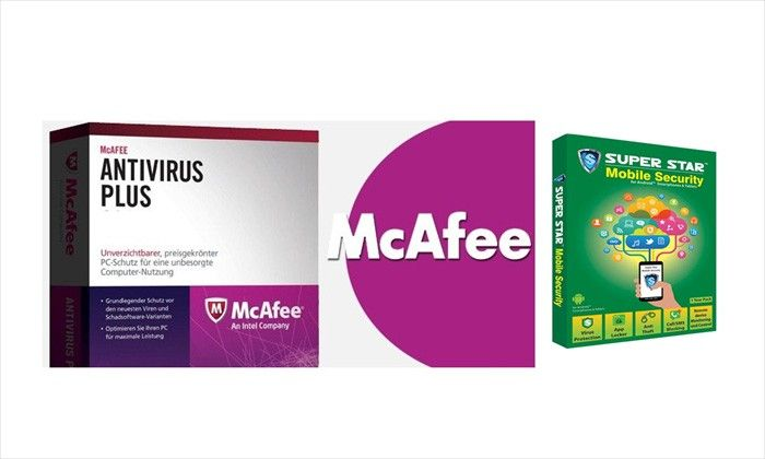 Highlights  Offer is on a McAfee PC Antivirus + Superstar Mobile Antivirus Combo