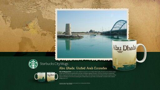 Starbucks City Mug Abu Dhabi, United Arad Emirates