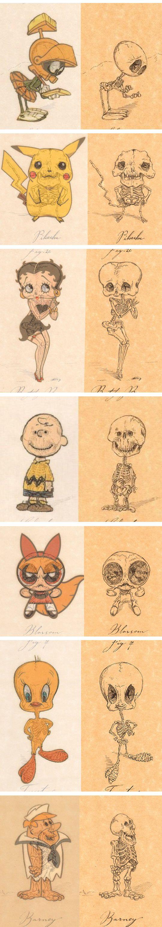 Anatomy of Cartoon Characters