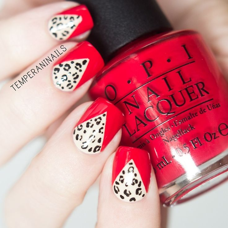 Nail Art | Rockabilly Mani