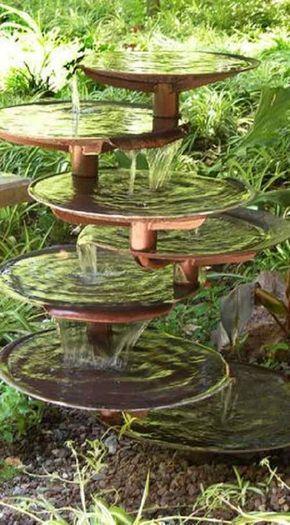 15 Most Unique and Impressive Pond Fountain Ideas