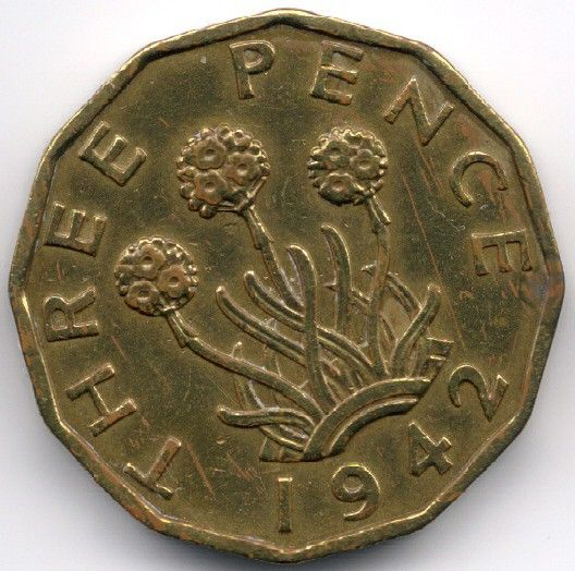 United Kingdom 3 Pence 1942 Veiling in de Decimaal,Brits,Munten,Munten & Banknota's Categorie op eBid België