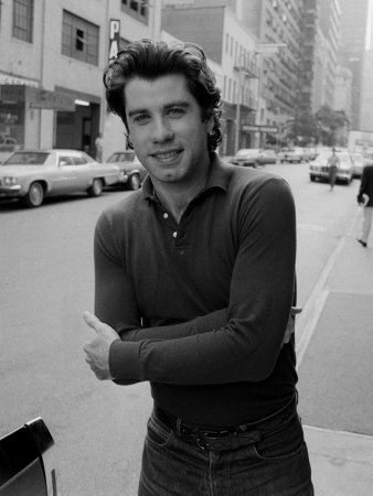 John Travolta ~ he sure is skinny in this pic!
