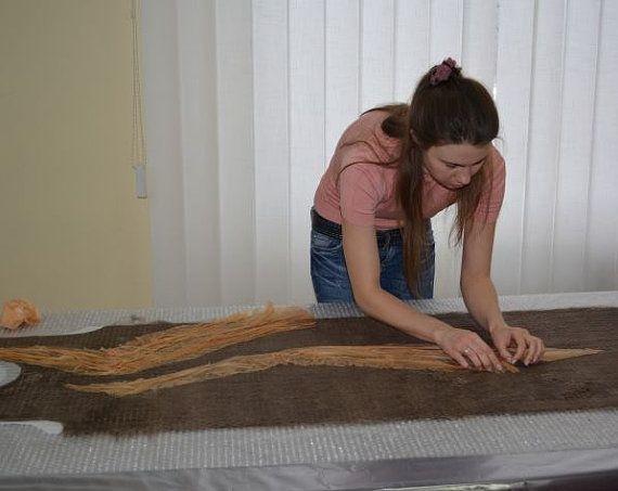 Обучающий видео-курс по валянию платья-баллона с рукавом, электронная версия, tutorial, felting, nunofelting, DIY