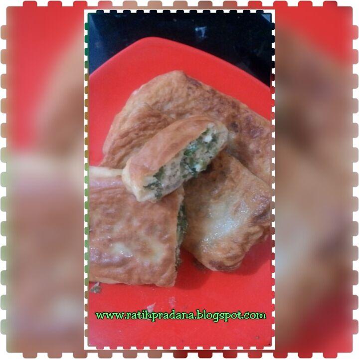 Homemade Martabak Telor