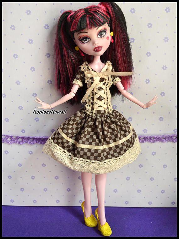 Handmade outfit for Monster High Dolls