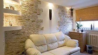(12) Мастер класс каменные стены из папье-маше - YouTube