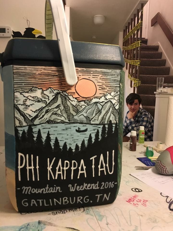 phi kappa tau mountain weekend cooler