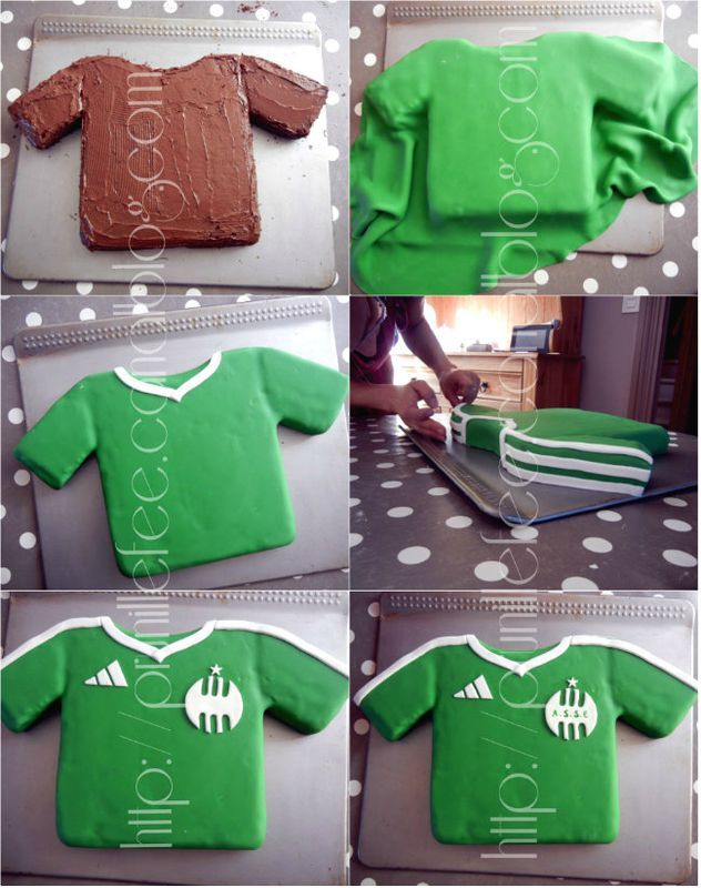 football shirt cake tutorial                                                                                                                                                                                 Plus