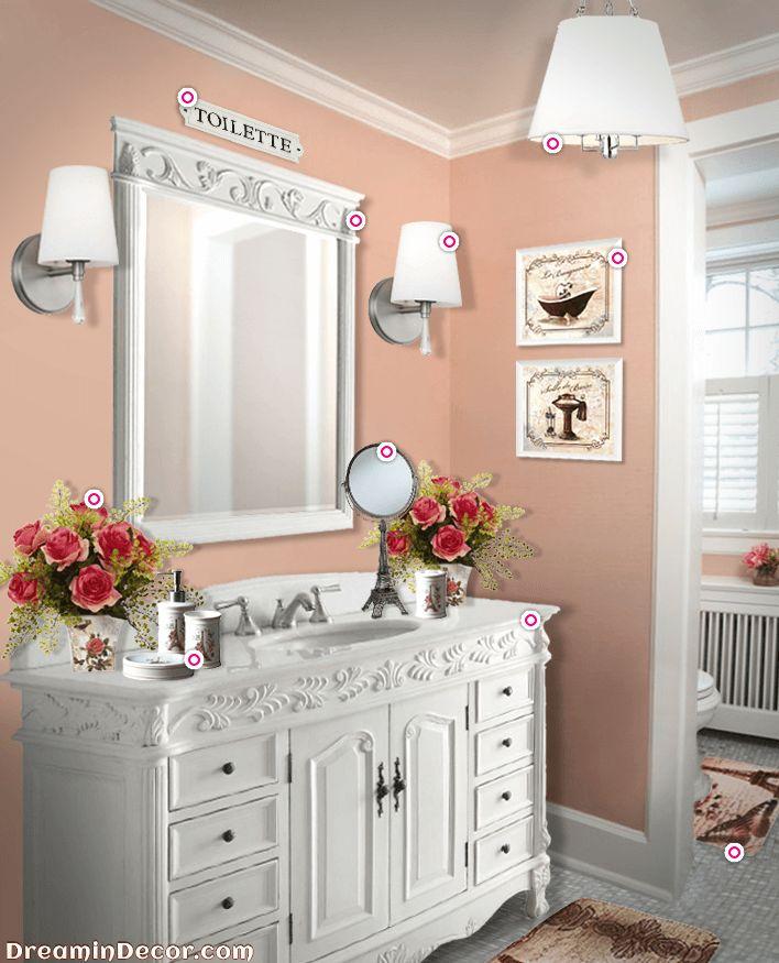 Parisian Themed Bathroom: 1000+ Ideas About Paris Bathroom Decor On Pinterest