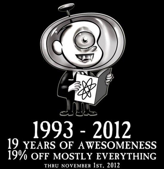 @MeltdownComics turns 19 and you #SAVE thru Nov. 1st